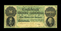 T1 $1,000 1861. The Montgomery issue $1000 was the only type of this denomination issued by the Confederacy. The quantit...