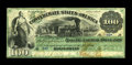 T3 $100 1861. This note is rich in history. It was dated May 14, 1861 at the Confederate Treasury Department. Then on Ma...