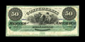 T4 $50 1861. This is a new discovery to the Montgomery census of notes, most likely residing in Mr. Bond's collection si...