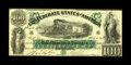 Confederate Notes:1861 Issues, T5 $100 1861. Original paper quality and bounding eye appeal are noted on this issue. A touch of handling is noted, but it i...