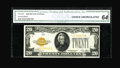 Small Size:Gold Certificates, Fr. 2402 $20 1928 Gold Certificate. CGA Choice Uncirculated 64.. ...