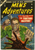Golden Age (1938-1955):Horror, Men's Adventures #24 (Atlas, 1953) Condition: VG+....