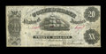"""Confederate Notes:1861 Issues, T14 $50 1861. This $50 is fully framed. Choice Crisp Uncirculated.. From The William A. """"Bill"""" Bond Collection..."""