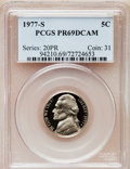 Proof Jefferson Nickels: , 1977-S 5C PR69 Deep Cameo PCGS. PCGS Population (4628/25). NGCCensus: (242/0). Numismedia Wsl. Price for problem free NGC...