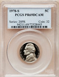 Proof Jefferson Nickels: , 1978-S 5C PR69 Deep Cameo PCGS. PCGS Population (4803/54). NGCCensus: (330/15). Numismedia Wsl. Price for problem free NG...