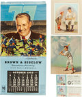 Miscellaneous Collectibles:General, Vintage Browns and Bigelow Memorabilia Lot and More....