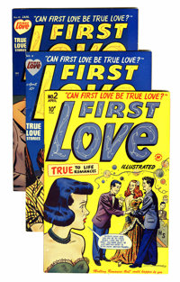 First Love Illustrated File Copy Group (Harvey, 1949-63) Condition: Average VF.... (Total: 80 Comic Books)