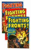 Golden Age (1938-1955):Miscellaneous, Harvey Miscellaneous War Related File Copy Comics Group (Harvey, 1950s-60s) Condition: Average VF.... (Total: 16 Comic Books)
