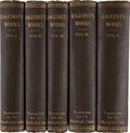 Books, Walter Bagehot. The Works of Walter Bagehot. Hartford:Travelers Insurance Company, 1889. Five octavo volumes. Front...(Total: 5 Items)