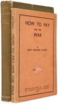 Books:First Editions, John Maynard Keynes. Essays in Biography. London: Macmillan,1933. First edition. Octavo. 318 pages. Eight plates. P... (Total:2 Items)