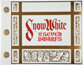 Books, [Walt Disney]. Walt Disney's Snow White and the SevenDwarfs. Chicago/New York: Circle Fine Art Press, [1978].Limit...