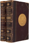 Books:First Editions, [Ulysses. S. Grant]. Personal Memoirs of U. S. Grant. NewYork: Charles L. Webster, 1885-1886. First edition. Two oc...(Total: 2 Items)