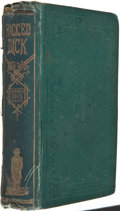 Books:First Editions, Horatio Alger, Jr. Ragged Dick; or, Street Life in New York withthe Boot-Blacks. Boston: Loring, [1868]. First ...