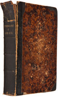 Books:First Editions, [Charlotte Brontë]. Jane Eyre. An Autobiography.Edited by Currer Bell. Boston: Wilkins, Carter & Co., 1848.Fir...
