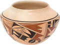 American Indian Art:Pottery, A HOPI POLYCHROME JAR . c. 1970...