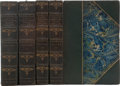 Books:Fine Bindings & Library Sets, John Keats. The Complete Works. Edited by Nathan Haskell Dole. London and Boston: Virtue & Company Publishers, [... (Total: 4 Items)