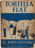 Books:First Editions, John Steinbeck. Tortilla Flat. New York: Covici Friede,[1935].First edition, issued in wrappers, one of approxi...