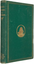 Books:First Editions, Lewis Carroll. Alice's Adventures in Wonderland. Illustratedby John Tenniel. Boston: Lee and Shepard, 1869....