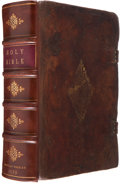 Books, [Bible in English]. The Bible. Translated According tothe Ebrew and Greeke, and conferred with the best translat...