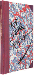Books:Signed Editions, Ralph Steadman. Signed Artist's Proof Lithograph and LimitedEdition Book, including: ... (Total: 2 Items)