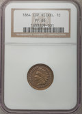 Proof Indian Cents, 1864 1C Copper-Nickel PR65 NGC....