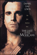 "Movie Posters:Adventure, The Last of the Mohicans (20th Century Fox, 1992). One Sheet (27"" X40"") DS Advance. Adventure.. ..."