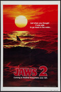 """Movie Posters:Horror, Jaws 2 and Other Lot (Universal, 1978). One Sheets (2) (27"""" X 41"""") Advance and Regular. Horror.. ... (Total: 2 Items)"""