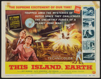 """This Island Earth (Universal International, 1955). Title Lobby Card (11"""" X 14""""). Science Fiction"""