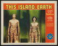 "Movie Posters:Science Fiction, This Island Earth (Universal International, 1955). Lobby Card (11""X 14""). Science Fiction.. ..."