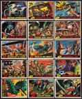 Non-Sport Cards:Lots, 1962 Topps Mars Attacks Collection (15). ...