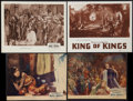 "Movie Posters:Historical Drama, The King of Kings (Pathé, 1927). Lobby Cards (4) (10"" X 12.75""& 9.75"" X 12.75"" & 11"" X 14""). Historical Drama.. ...(Total: 4 Items)"