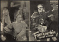 "Movie Posters:Horror, The Ghost of Frankenstein (Universal International, late 1940s). Illustriertes Film, Austrian Program (4 Pages, 6"" X 8""). Ho..."