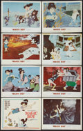 """Movie Posters:Animated, Magic Boy (MGM, 1960). Lobby Card Set of 8 (11"""" X 14""""). Animated..... (Total: 8 Items)"""