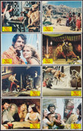 """Movie Posters:Fantasy, Sinbad and the Eye of the Tiger (Columbia, 1977). Lobby Card Set of 8 (11"""" X 14""""). Fantasy.. ... (Total: 8 Items)"""