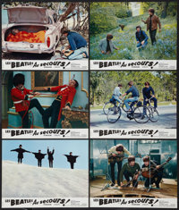 """Help! (United Artists, 1965). French Lobby Card Set of 12 (8.25"""" X 10.5""""). Rock and Roll. ... (Total: 12 Items..."""