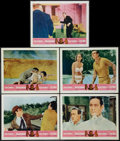 """Movie Posters:James Bond, Goldfinger/Dr. No Combo (United Artists, R-1966). Lobby Cards (9) (11"""" X 14""""). James Bond.. ... (Total: 9 Items)"""