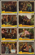 """Movie Posters:Western, In Old Cheyenne (Republic, 1941). Lobby Card Set of 8 (11"""" X 14""""). Western.. ... (Total: 8 Items)"""