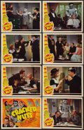 "Movie Posters:Comedy, Cracked Nuts (Universal, 1941). Lobby Card Set of 8 (11"" X 14""). Comedy.. ... (Total: 8 Items)"