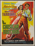 "Movie Posters:Adventure, The Corsican Brothers (Mudnaney Film, R-1950s). Indian Posters (3)(30"" X 40""). Adventure.. ... (Total: 3 Items)"