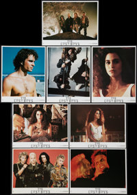 "The Lost Boys (Warner Brothers, 1987). German Lobby Card Set of 16 (9.25"" X 12""). Horror. ... (Total: 16 Items..."