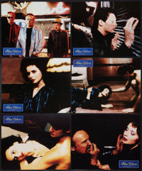 """Blue Velvet (Concorde, 1987). German Lobby Cards (12), Stern Magazine Review (9.5"""" X 12"""") and Photo (6.5""""..."""