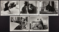 """Love in the Afternoon (Allied Artists, 1957). Photos (9) (8"""" X 10""""). Romance. ... (Total: 9 Items)"""