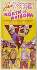 "Movie Posters:Western, North of Arizona (William Steiner, 1935). Three Sheet (41"" X 81"").Western.. ..."