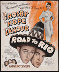 """Movie Posters:Comedy, Road to Rio (Paramount, 1948). Pressbook (24 pages, 12.25"""" X 15"""").Comedy.. ..."""