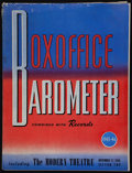 """Movie Posters:Miscellaneous, Boxoffice Barometer Magazine (Associated Publications, 1945-1946). Magazine (298 Pages, 9.25"""" X 12.25""""). Miscellaneous.. ..."""