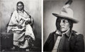 American Indian Art:Photographs, WIFE OF HUMP and SPOTTED ELK. c. 1955... (Total: 2 Items)