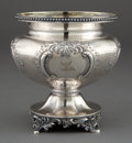 Silver Holloware, American:Bowls, AN EOFF & PHYFE SILVER WASTE BOWL. Eoff & Phyfe, New York,New York, circa 1850. Marks: EOFF & PHYFE, STERLING.6-1/2 in...