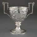 Silver Holloware, American:Cups, A KIRK COIN SILVER TWO-HANDLED CUP . S. Kirk & Son Inc.,Baltimore, Maryland, circa 1846-1861. Marks: S. KIRK & SON,11 OZ...