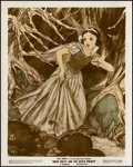 """Movie Posters:Animation, Snow White and the Seven Dwarfs (RKO, 1937). Color-Glos Photo (8"""" X 10""""). Animation.. ..."""
