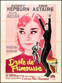 """Funny Face (Paramount, 1957). French Grande (47"""" X 63""""). Romance"""